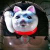 中華街の招きネコ