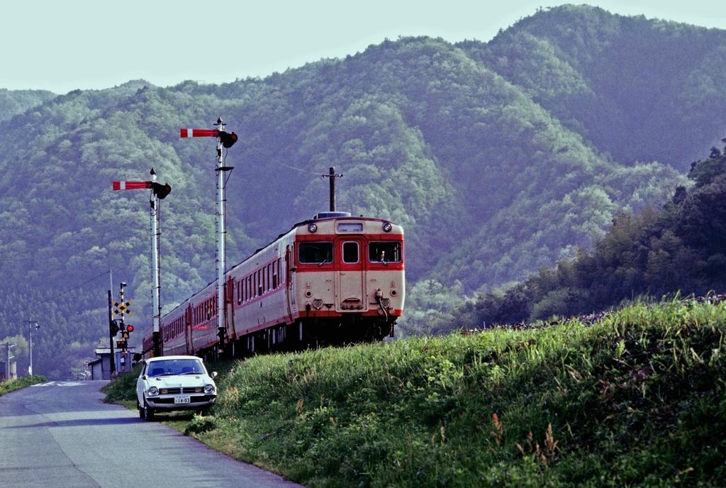 国鉄山口線撮影記 国鉄が民営化になる前に撮影したポジを最近デジタル化しましたので何枚かア...