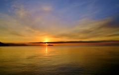 Morning of Lake Biwa