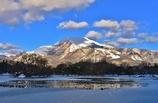 伊吹山冬景色