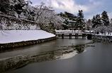 雪の彦根城散策 4