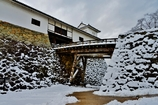 雪の彦根城散策 6