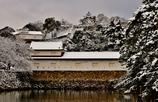 雪の彦根城散策 1
