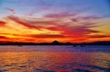 夜明け ~琵琶湖~