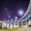 宮古橋と天の川