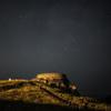 History of starlit sky