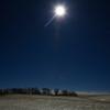 ふたご座流星群と満月