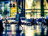 銀座 Rainy Night..