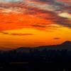 夕焼け雲と富士山..#2