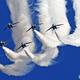 ブルーインパルス Iruma..「思い出」..22…白い雲!