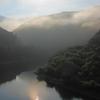朝霧の早池峰
