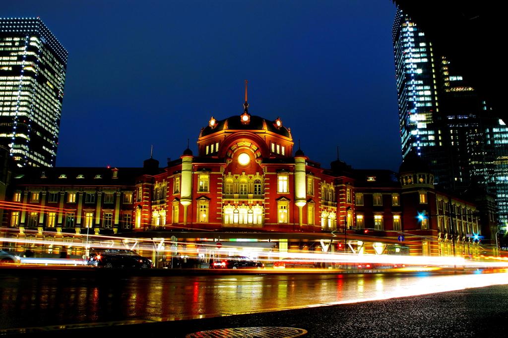 ゴールの東京駅