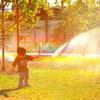 SPRINKLER RAINBOW!!