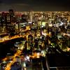 OSAKA CITY NIGHT VIEW