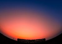 CANON Canon EOS 6Dで撮影した(春霞のマジックアワー)の写真(画像)