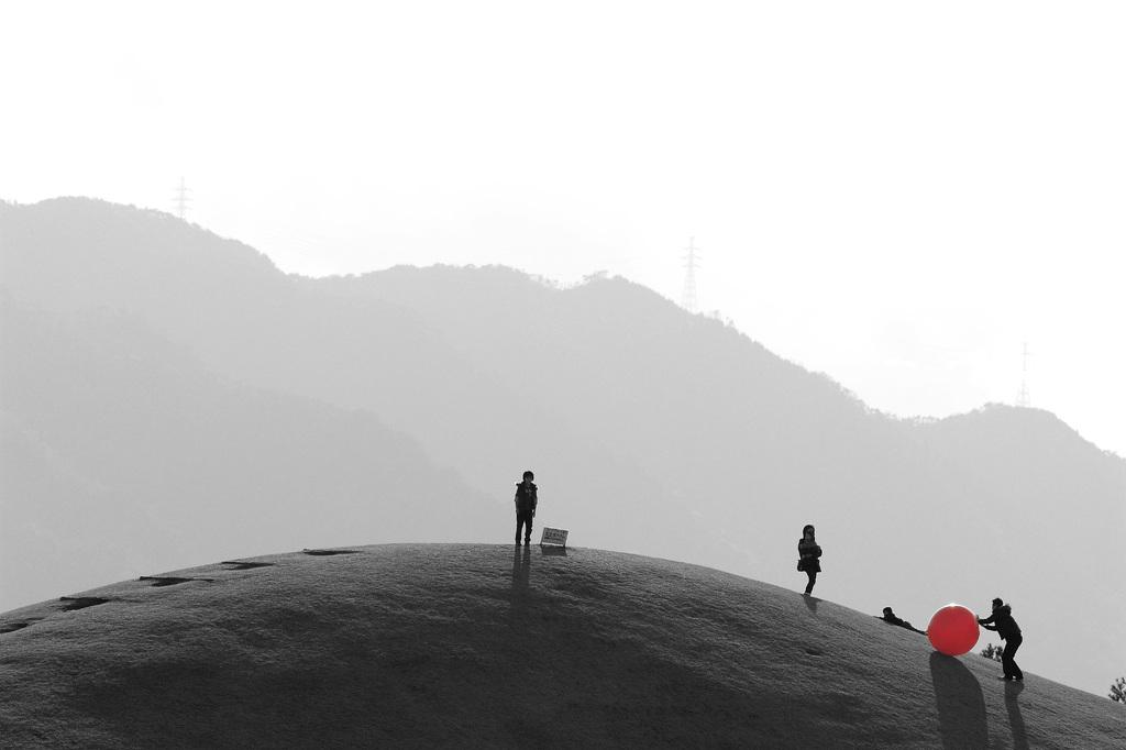 丘の上の人々