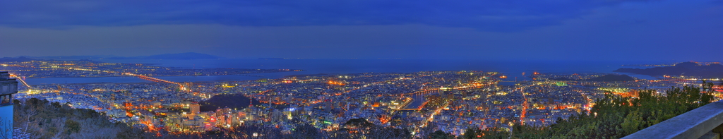 Nightview from BIZAN ver.panorama