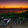 日の出前のサイクリング