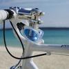 自転車で海水浴
