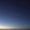夜明けの大三角