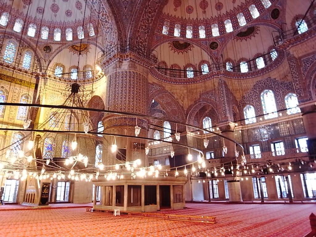 トルコ:ブルーモスク