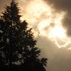 天からの光