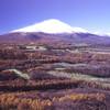 浅間山初冠雪