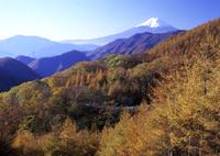 BRONICA GS-1で撮影した風景(初秋の富士)の写真(画像)