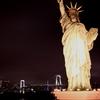 自由の女神と虹橋
