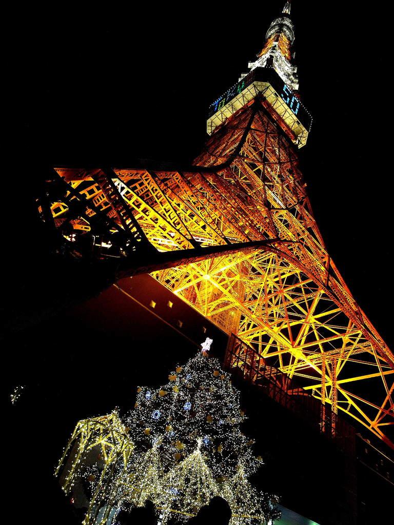 東京タワー股下