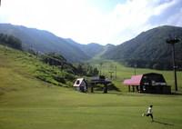 夏のスキー場