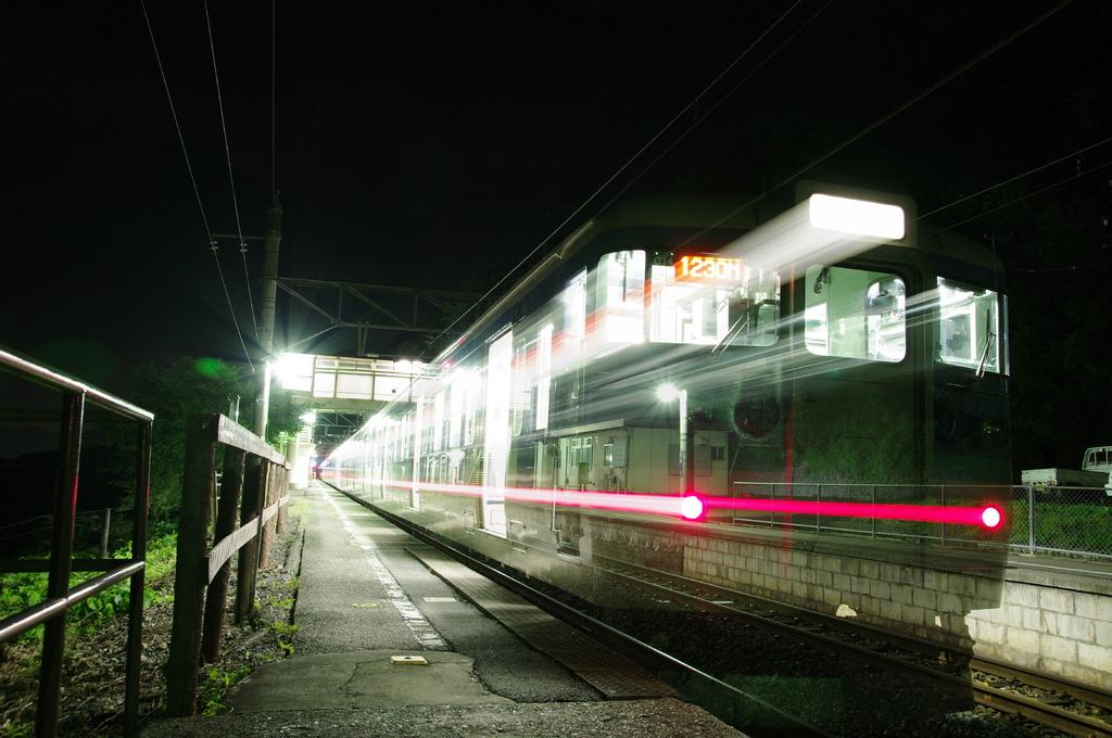 スイッチバックの駅