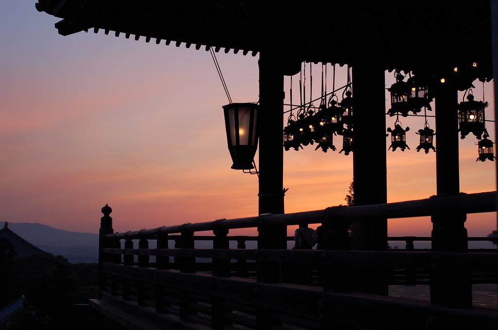 日本の夕焼け