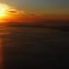 房総沖の夕日