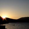 三国山からの日の出