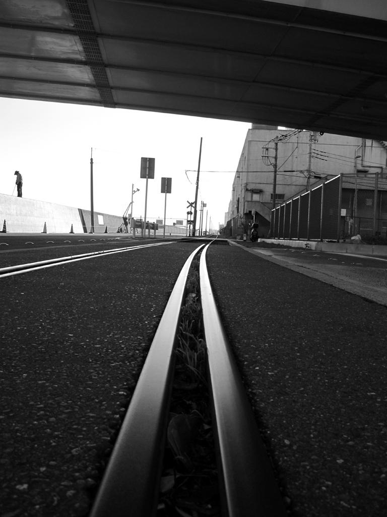 横浜かもめ町貨物線