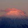 朝陽は富士山頂から