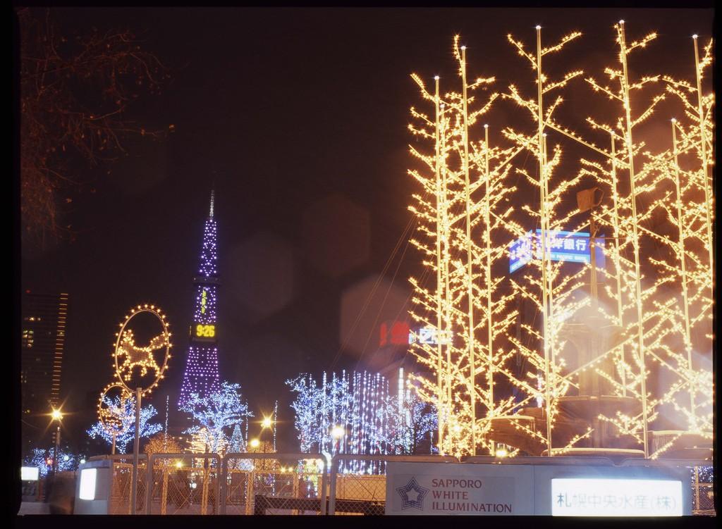 札幌ホワイトイルミネーション3
