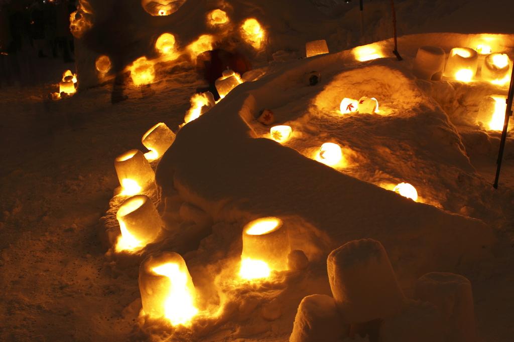 小樽雪明かり スノーキャンドル