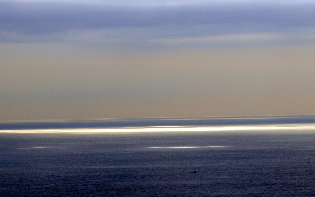 La mer qui brille
