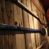 A timeworn oar