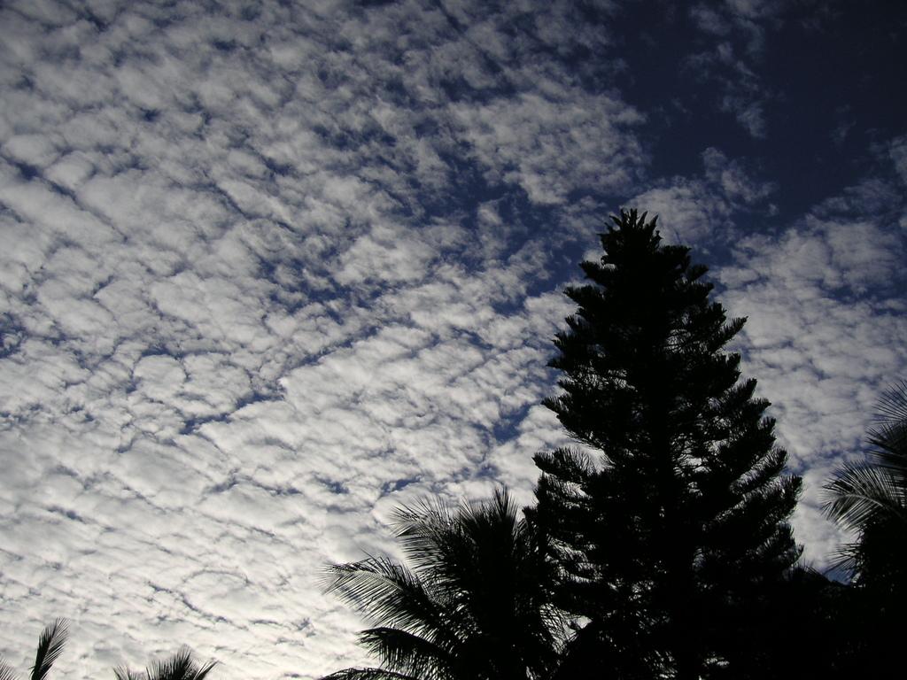 冬の雲IN豪州