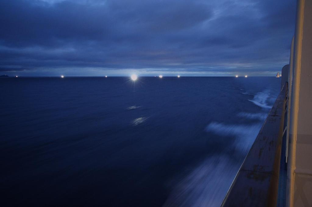 漁船の灯火
