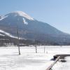 凍てついた女神湖