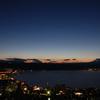 諏訪湖夕暮れ