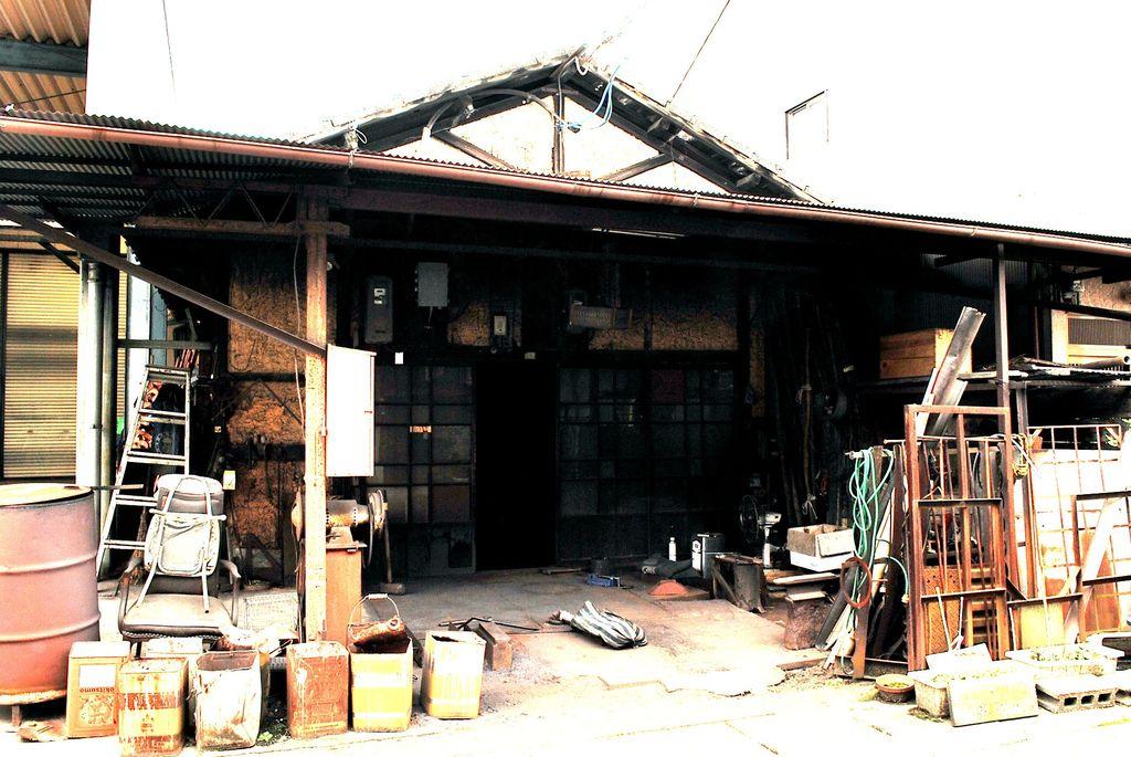 町の作業場