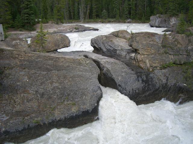 カナダの滝