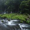 白糸の滝 川
