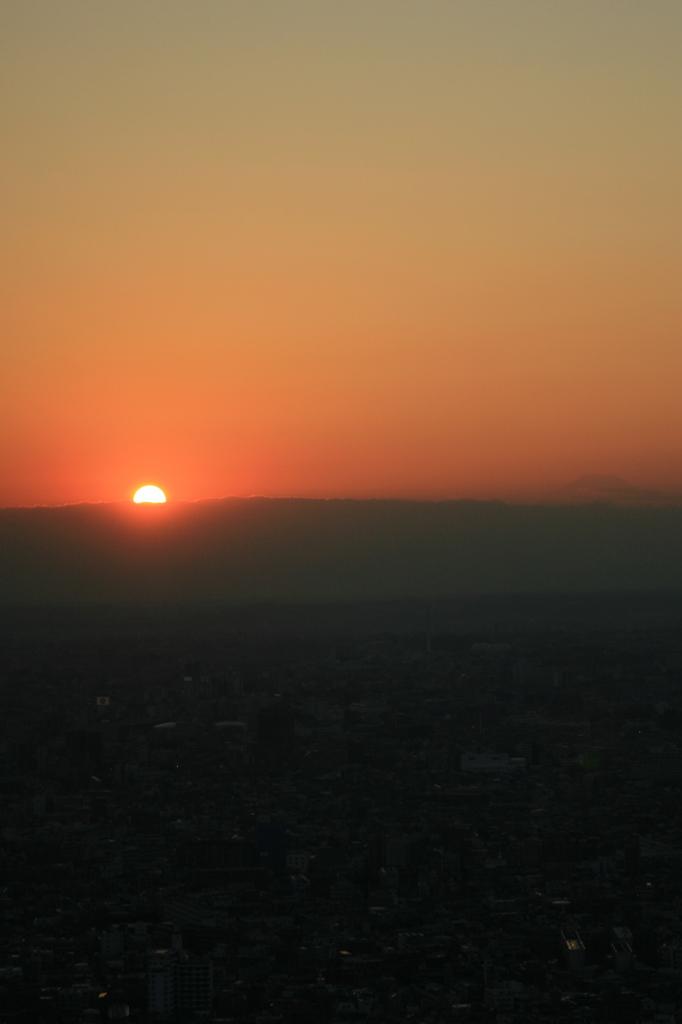 Mt. Fujiチラリ