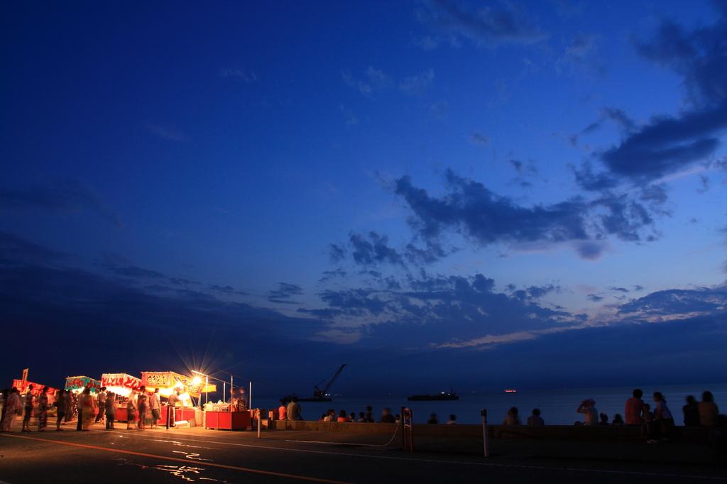 夏の夕暮れ